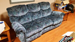 Elran reclining cauch and chairs set