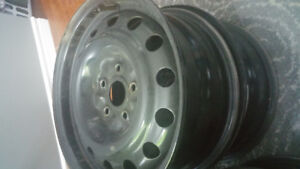 4X16 inches Rims for 60$ total.