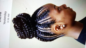 AFRICAN BRAIDER AVAILABLE
