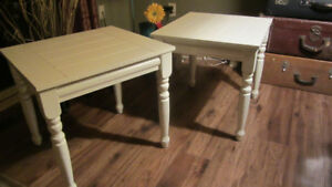 Matching Pair of End Tables
