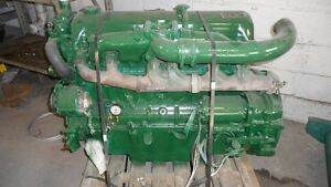 A VENDRE MOTEUR GENERATRICE FORD 6.2 DIESEL 6 CYL ENGINE FORSALE