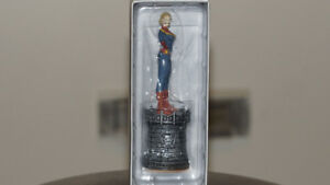 Marvel Chess Figure Collection #14 Captain Marvel White Queen