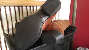 All Leather Cowboy Boots Authentic Nashville Tennessee Kingston Kingston Area image 4