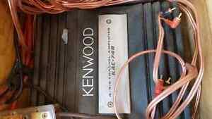 Kenwood 4/3/2 channel amplifier KAC 748