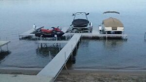 Aluminum Dock 20ft Rolling ( Spring Pricing) TR Aluminum Designs