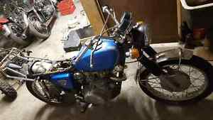 1970 HONDA-SCRAMBLER FOR PARTS OR A FIXER UPPER