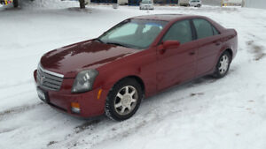 2003 CADILLAC CTS - 78000KM - $2500 AS-IS