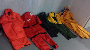 Brand new Mustang floater suits and life jackets