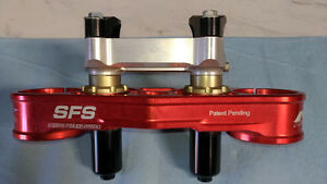 CRF450 SFS Neken upper triple clamp