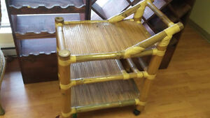 solid bamboo cart costed me 450 reduced today to 140 one of kind