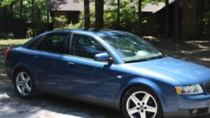2002 Audi A4 1.8T Quattro Sedan