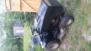16hp ride on tractor looking to trade for a canoe