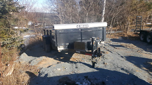 7'x14' Dump trailer for rent