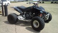 2004 Yamaha YFZ450, Yosh Pipe, Wide A Arms and Axle.... TRADES?