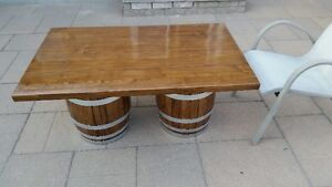 Wine Barrel Coffee Table Kitchener / Waterloo Kitchener Area image 6