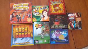 Petits jeux de sociétés / small board game for sale