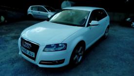 2010 Audi A3 5 Door FSH White MOT 09/08/21 Great car