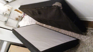 King bed box foundation or Two Twin XL