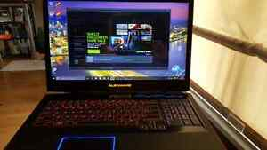 Alienware m17x r4 red