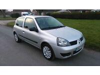 2007 RENAULT CLIO 1.2 CAMPUS *** NEW MOT, FULL HISTORY, NEW CAM BELT ***
