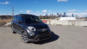 Almost-New Fully Loaded 2014 Fiat 500L Hatchback