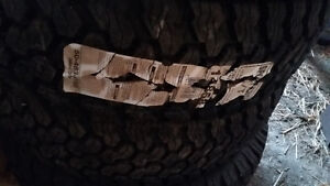 """4 """" NEW """" STEEL RADIAL SPORT KING A/T TIRES """" Peterborough Peterborough Area image 3"""