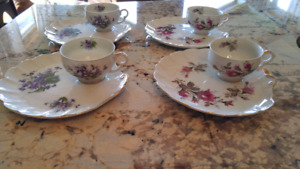 Teacups and side plates