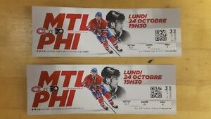 Pair of Montreal Canadian Home Game Tickets (October 24th)