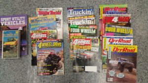 Assorted Truck Magazines