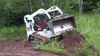 Bobcat/Skid Steer Services