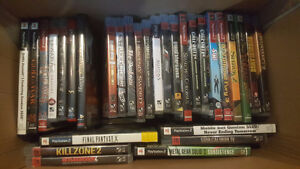 PS3/PS2 Video Game Collection