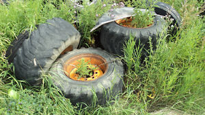 case skid steer rims and tires