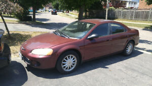 2002 Chrysler Sebring SLX Sedan