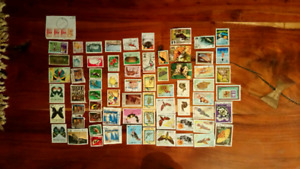 120 Timbres pays étrangers / foreign countries stamps