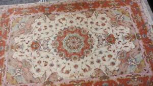 Persian  rug wool and silk
