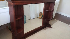 'All Wood' -Mirror unit for Dresser Peterborough Peterborough Area image 3