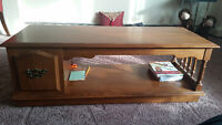 Coffee Table -- very nice condition, made up of solid wood