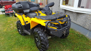 2014 canam outlander 800 low kms