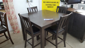 Pub Style Dining Table - Delivery Available