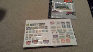Huge canadian stamp collection 400 obo