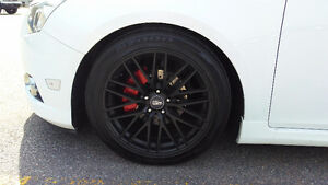 """MSR144 18"""" mags with tires for Cruze,Sonic,Trax(5x105)"""