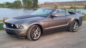 2011 FORD MUSTANG GT CONVERTIBLE MANUEL