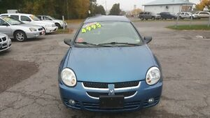 2005 Dodge SX 2.0 SEDAN *** LOW LOW KM *** CERT $4995 Peterborough Peterborough Area image 2