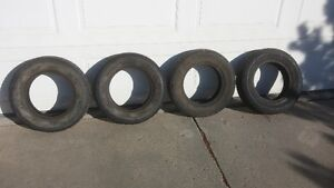 Set of 4-155 80R13 tires