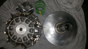 can-am Renegade Outlander 800 Clutch with Dalton kit installed