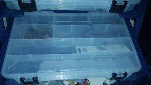 2 Tackle boxes full of gear and 2 Baitcaster reels w/ ugly stick Windsor Region Ontario image 4