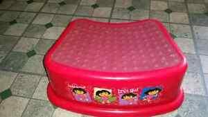 Dora the Explorer stool