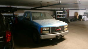 91 GMC Sierra RWD 290,000km test drivable for serious ibquires