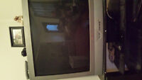 """36"""" tube style Sanyo TV with remote"""