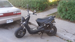 2004 Yamaha BWS 70cc registered 50cc, only 13k!